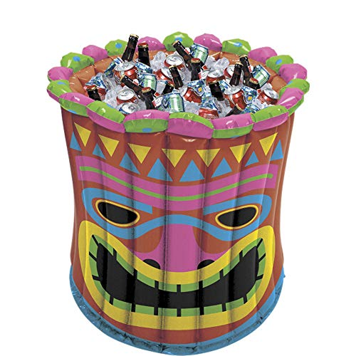 Amscan Inflatable Tiki Party Cooler, 2']()