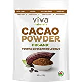Viva Naturals Organic Non-GMO Cacao Powder, 1 Pound Bag