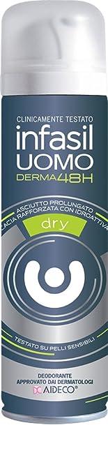 4 opinioni per Infasil Deo Spray Uomo Dry Ml.150