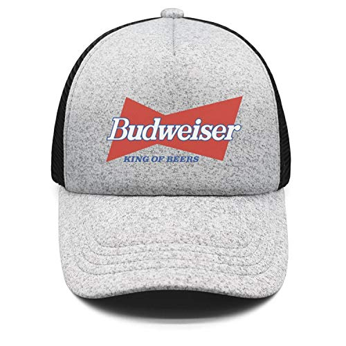 YJRTISF Popular Music Budweiser-Budvar-Beer-Logo- Vintage Hat Top Stations Trucker Cap for Kids Boys & Girls