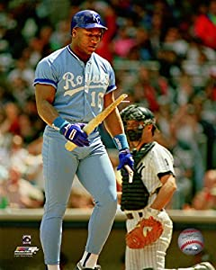 "Bo Jackson Kansas City Royals MLB Action Photo (Size: 8"" x 10"")"