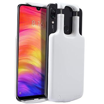 EASYCOB Funda Batería para Xiaomi Redmi Note 7 5000mAh,Funda ...