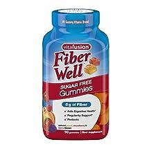 Vitafusion Fiber Gummies - Fiber, 90-Count Bottle