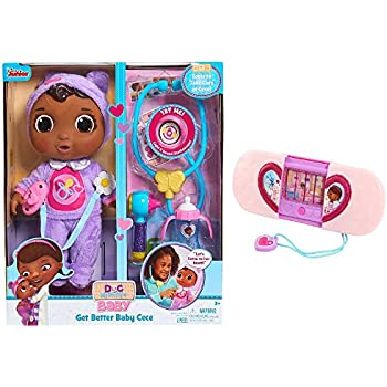 Amazon Com Junior Doc Mcstuffins Get Better Baby Cece Set