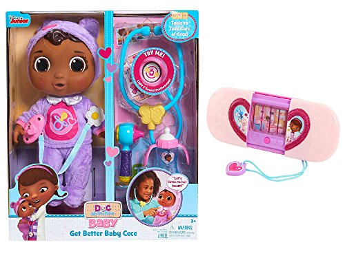 Junior Doc McStuffins Get Better Baby Cece Set and Toy Hospital Magical Toysponder