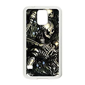 Black Skull Pattern Custom Protective Hard Phone Cae For Samsung Galaxy S5