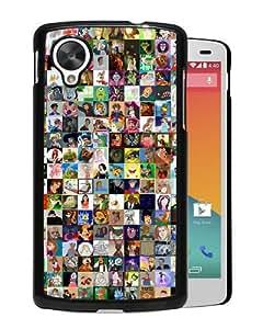 Popular Design Google Nexus 5 Case Of Disney World Black Customized Photo Design Google Nexus 5 Phone Case