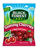 Black Forest Gummy Cherries Candy, 4.5 Ounce Bag (Pack of 12)