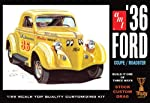 AMT 1936 Ford Coupe 1/25 Scale Plastic Model Car Kit by Ertl Models