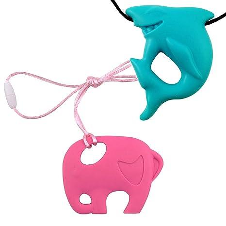 Inchant bebé Teethoing Juguetes conjunto libre de BPA ...