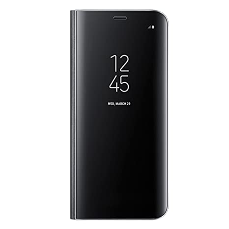 flip cover custodia clear view per samsung galaxy s8