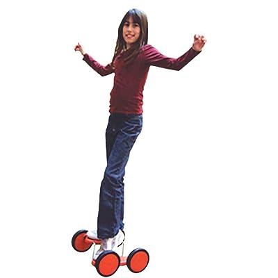 4 roues acrobatiques rouge (pedal go)