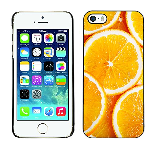 Premio Sottile Slim Cassa Custodia Case Cover Shell // V00002435 oranges en tranches // Apple iPhone 5 5S 5G