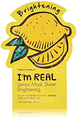 TONYMOLY-Im-Real-Lemon-Brightening-Mask-Sheet-21-g