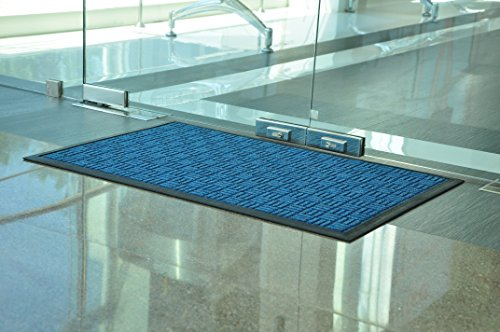 Kempf Water Retainer Mat, 18 by 30-Inch, Blue