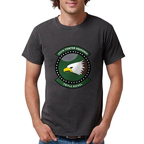 CafePress - 555Th_Fs T-Shirt - Mens Comfort Colors Shirt (Fighter 555th)