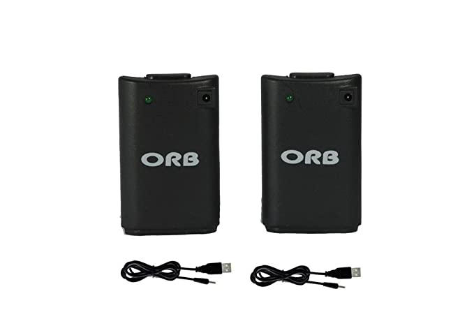 ORB Dual Charge And Play Battery Pack - Black (Xbox 360 ...