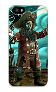 meilz aiai3d Pirate Model PC Hard Case Cover for iPhone 5S and iPhone 5meilz aiai