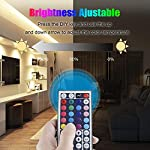 LED Strip Light, 16.4 ft Waterproof Music RGB 5050 Led Rope Lights Color Changing LED Light Strip Kit with Remote… 12