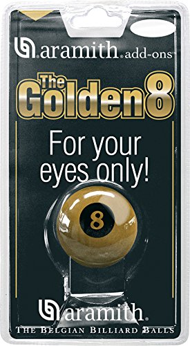 Aramith Golden 8 Ball 57.2mm