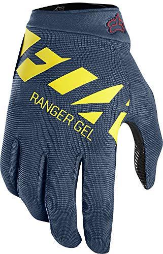 - Fox Head Ranger Gel Racing Mountain Bike BMX Gloves (Midnight, L)