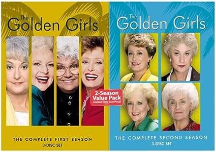 Amazon com: The Golden Girls - Seasons 1 & 2: Beatrice Arthur, Rue