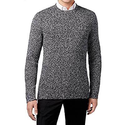 Calvin Klein Mens Wool Marled Pullover Sweater