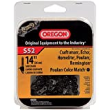 Oregon 14-Inch Chain Saw Chain Fits Craftsman, Echo, Homelite, Poulan, S52