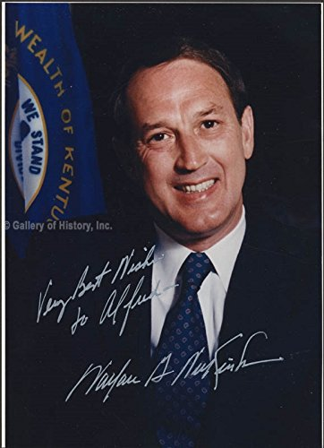 Governor Wallace Wilkinson Inscribed Photograph Signed