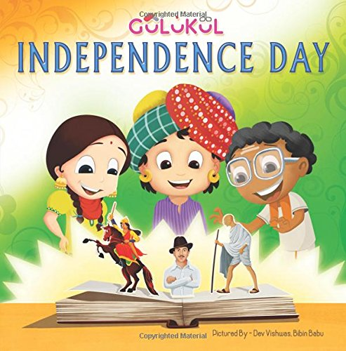 Independence Day Hindienglish Bilingual Book For Kids Gulukul Inc