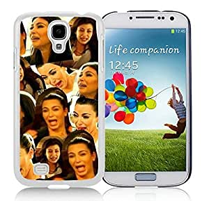 Beautiful Designed Case With Kim Kardashian White For Samsung Galaxy S4 I9500 i337 M919 i545 r970 l720 Phone Case