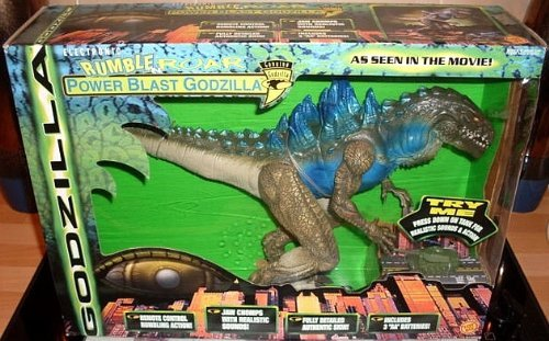 Godzilla Rumble Roar Power Blast Electronic Action Figure [並行輸入品] B01MZ384A9