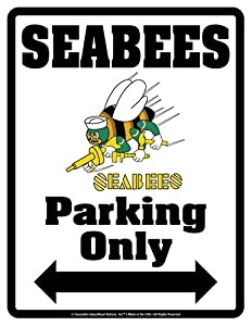 SeaBees Parking novelty signs by Innovative-Ideas