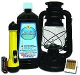 Lamplight 2108425 Emergency Lighting Kit, Black