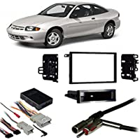 Fits Chevy Cavalier 2000-2005 Double DIN Harness Radio Install Dash Kit