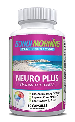 Neuro Plus Brain Function Support. Promotes Focus, Clarity, Energy & Alertness. Nootropic Pills For Optimal Performance. Advanced Slow-Releasing Formula For Lasting Results. 60 Capsules Advanced Memory Formula