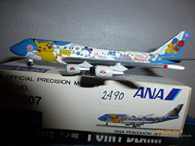 Aircraft Model 2490 All Nippon Airways B-747-481d