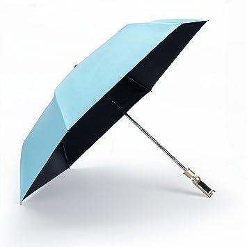 Selfie Stick elegante paraguas con soporte de móvil ajustable para llevar fácilmente fotos azul azul celeste