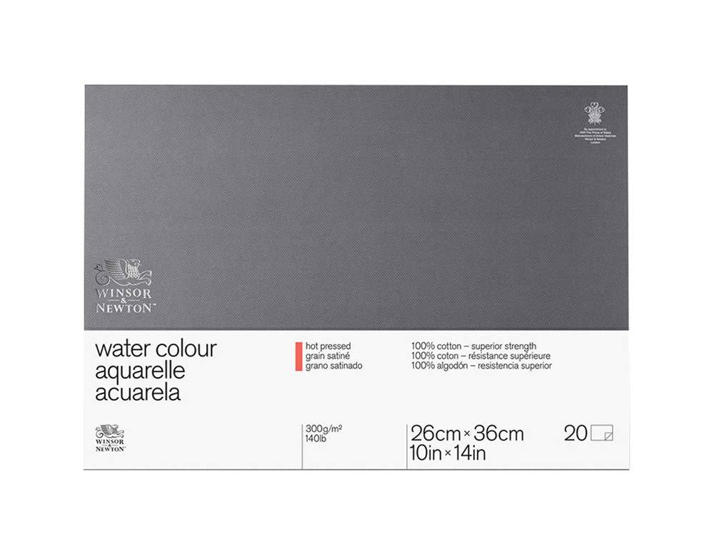 Winsor & Newton Professional Watercolor Paper Block, Cold Pressed 140lb, 7x10 (6663262) 7x10 (6663262)