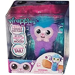 Wrapples Shora Slap Band Little Live Electronic Pets, Purple and Blue Mermaid, Target Exclusive