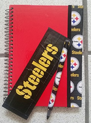 Pittsburgh Steelers NFL Journal Diary (Pittsburgh Steelers Spiral)