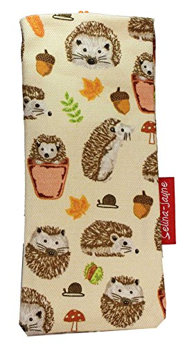 Selina-Jayne Hedgehogs Limited Edition Designer Soft Fabric Glasses Case