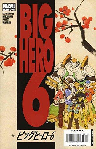 Big Hero 6 Comic (Big Hero 6 #1)