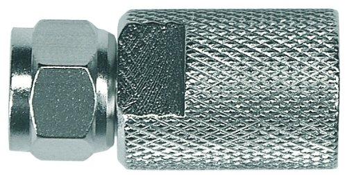 Tipo F, F, Macho, Met/álico, Metal, 100 pieza Axing CFS 7-02 Conector coaxial s