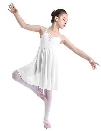 Yeahdor Vestido de Danza Ballet para Niña Chica Vestido de ...