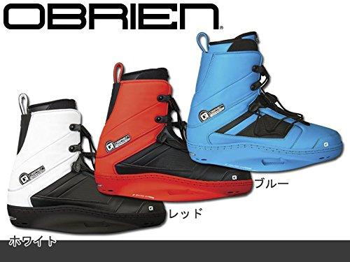 【ウェイクボード】【ビンディング】 OBRIEN(オブライエン) JR(-22.5cm) ホワイト 15年モデル 「NOMAD(ノーマッド)」 B01GMX7IZ8 15年モデル JR(-22.5cm)|ホワイト ホワイト JR(-22.5cm), ニイミシ:4a5f18ae --- ijpba.info