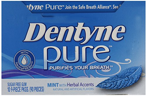 012546308014 - Dentyne Pure Singles Herbal Accents, 10-Count Packages (Pack of 2) carousel main 5