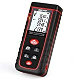 Laser Distance Meter, RISEPRO Digital Laser Rangefinder 40 Meters 131 feet Mini Handheld Area Volume Measure Diastimeter