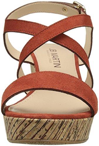 Jb Martin Women's Dayane Platform Sandals Orange (Ch Vel Tosca/T Liege Baya Multi Tosca) aTCcscJ1I