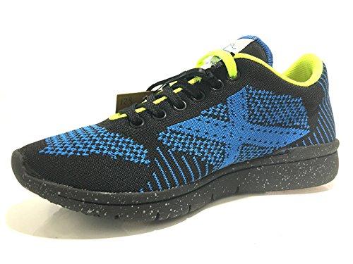 Munich - Zapatillas de Material Sintético para hombre negro NERO-BLU
